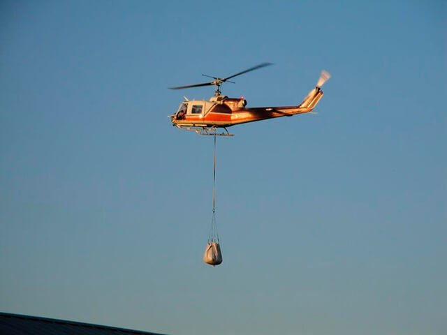 air delivery of feed bag