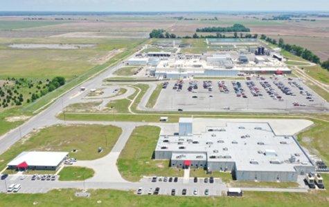 Pocahontas facility drone view