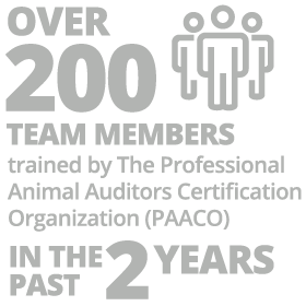 over 200 team members trained by PAACO infographic